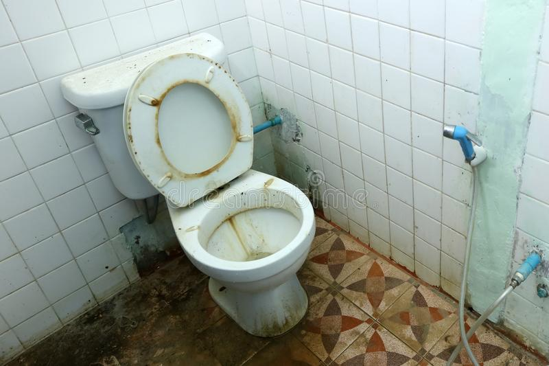 What does it mean to dream about dirty bathrooms?