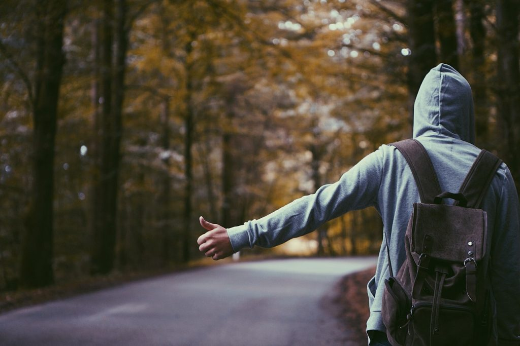 What does it mean to dream about hitchhiking?