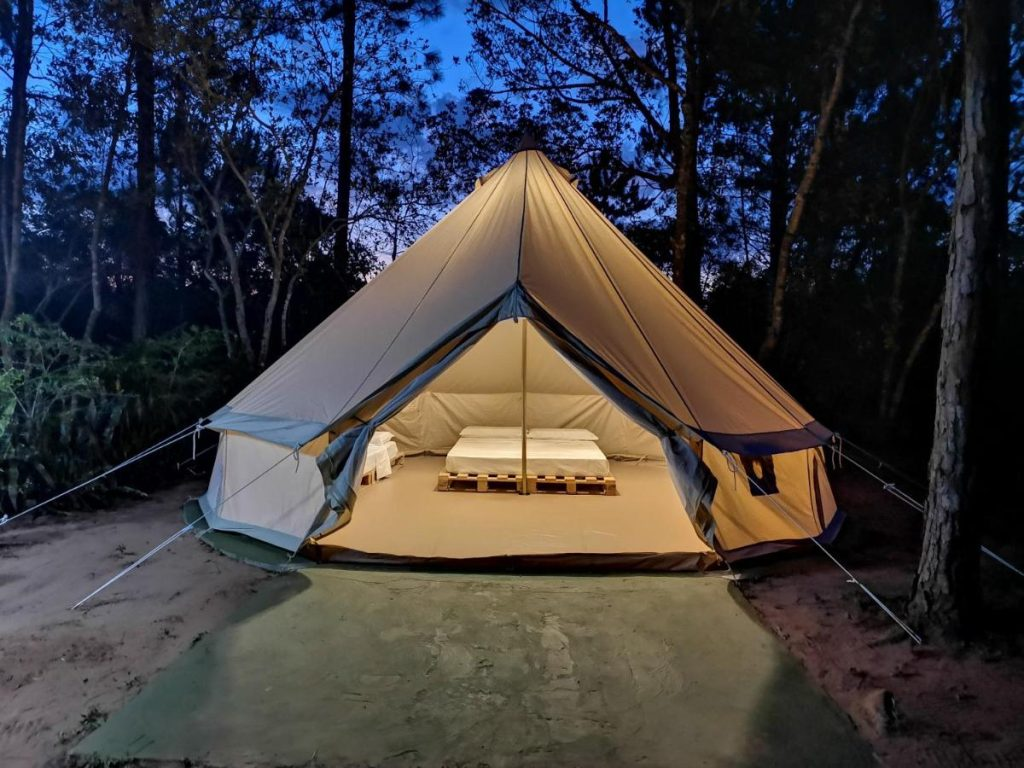 what does it mean to dream about tents